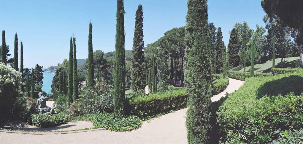 Perduts als jardins de Santa Clotilde! II