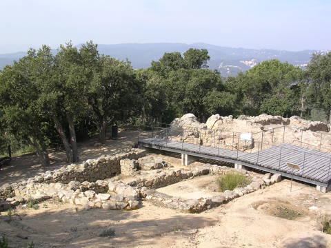 Puig de Castellet Iberian Settlement - de0ac-DSCN1111-Puig-de-Castellet.JPG